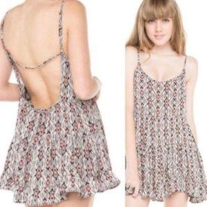 Brandy Melville Aztec Print Dress One Size